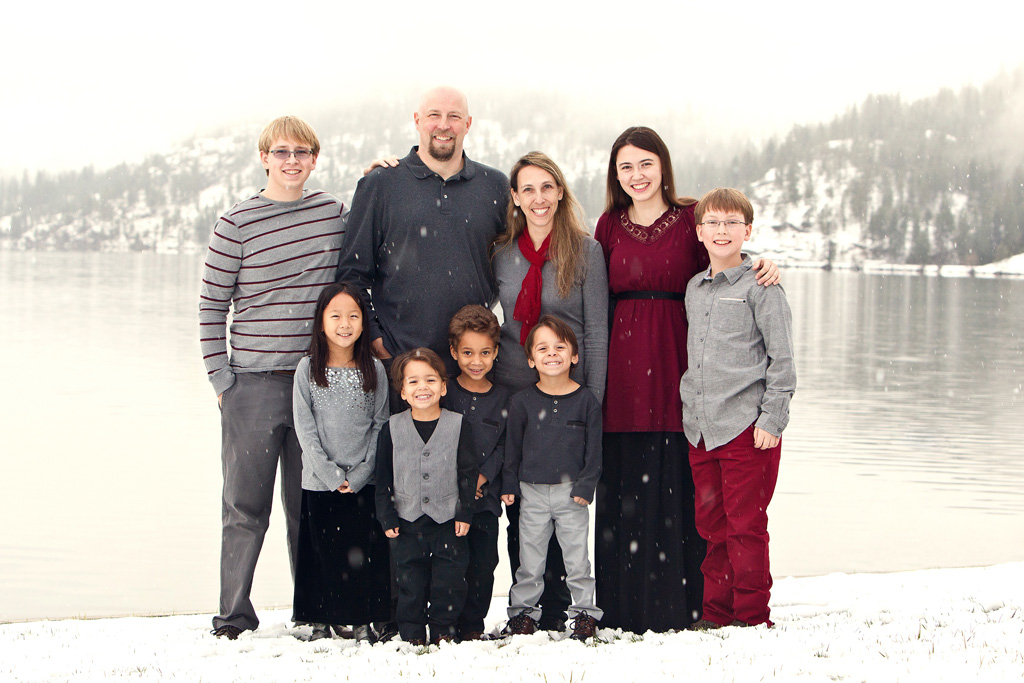 Dudenhofer Family Snow