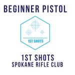 Beginner Pistol - 1st Shots at Spokane Rifle Club